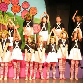 There are 21 Oompa Loompas in the production. Photo by Darla Hussey