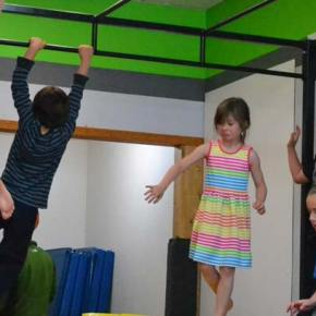 Kids combine play with fitness at Twisp Gym