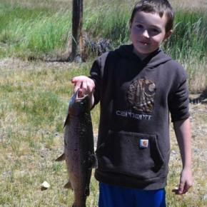 Free fishing for kids at Winthrop Fish Hatchery on Saturday