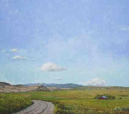 Buffalo Jump Road by Caldwell.