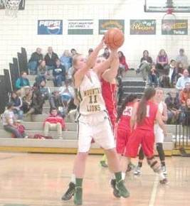 Lady Lions can't quite catch up with Brewster despite strong finish