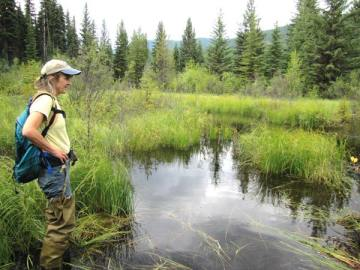 Photo courtesy of Okanogan Highlands Association Explore the Lost Lake wetland with several speakers at presentation in Tonasket.