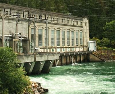 Photo by Marcy Stamper The Gorge Powerhouse in Newhalem has revamped exhibits on hydropower and construction of the dam in the 1920s.