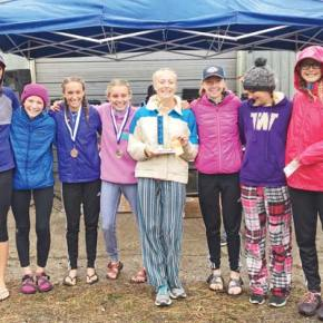 Liberty Bell XC teams both frontrunners at Idaho meet