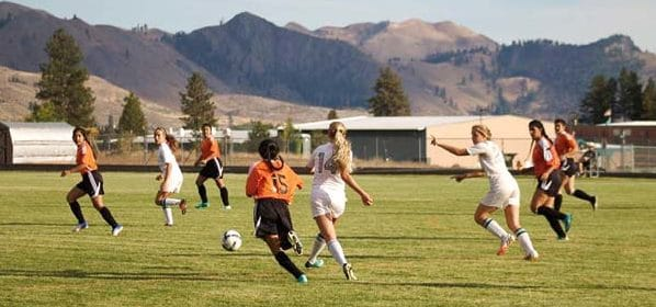 Photo courtesy of Lincoln Post The Lady Lions used home-pitch advantage and all-around aggressive play to claim a 5-1 win over Bridgeport last week.