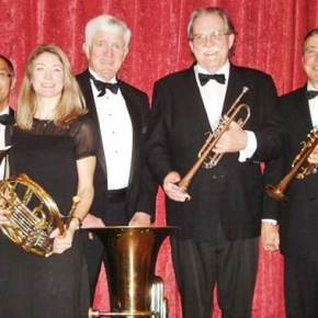 Shafer Museum hosts Thalia Brass Quintet