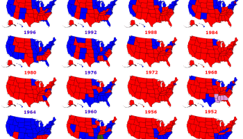 Where Election Forecasts Got It Wrong Metrocosm - Us map of presidential polls