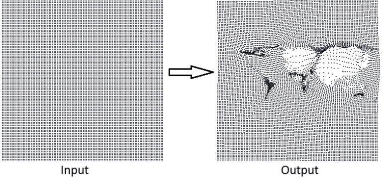 create deformation grid