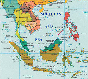 south asian sea