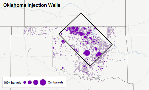 injection wells oklahoma