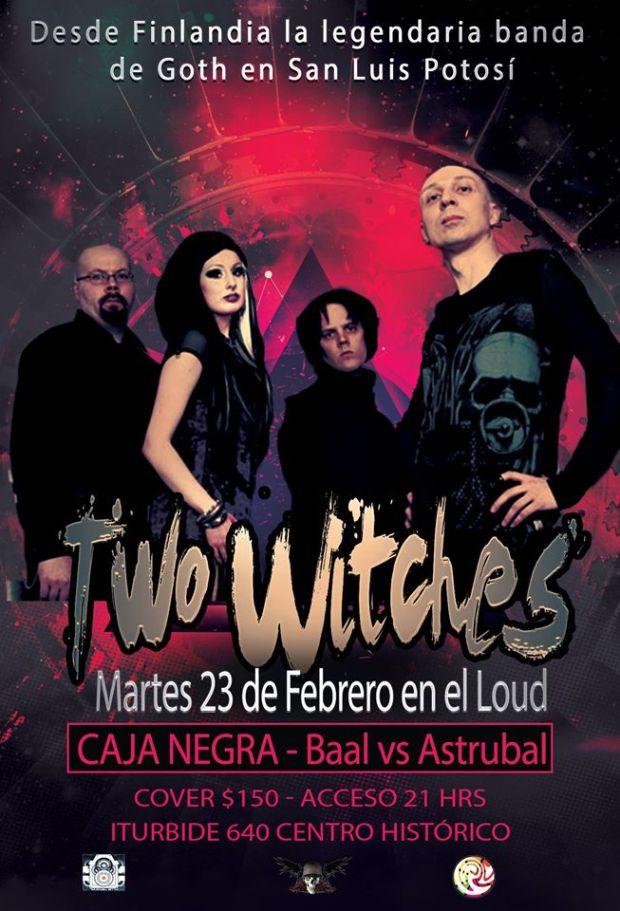 Two Witches en San Luis Potosí @ Loud Open Stage | San Luis Potosí | San Luis Potosí | México