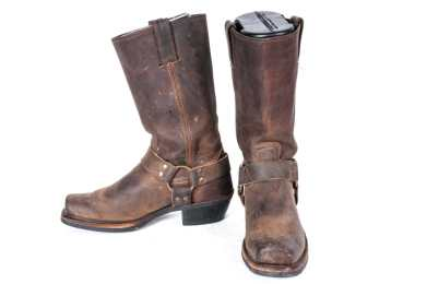Men's FRYE Harness Boots Size 9