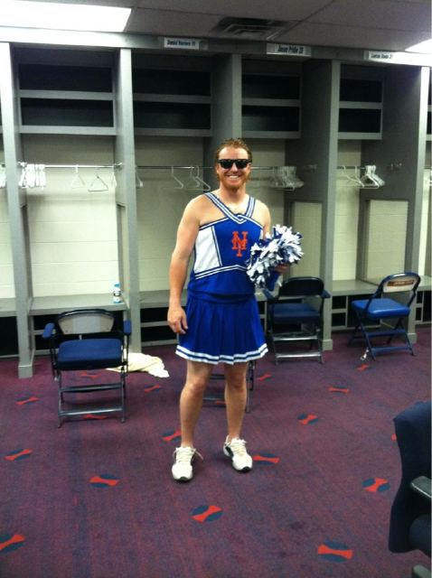 justin turner cheerleader
