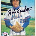 MetsPolice Mike Bruhert Signed Card