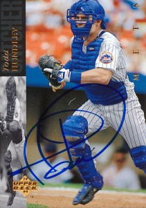 MetsPolice Todd Hundley Signed Card