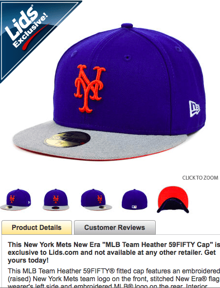 mets heather cap