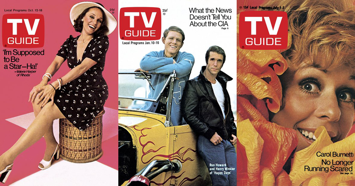 15 TV Guide covers from the 1970s that will take you down memory lane