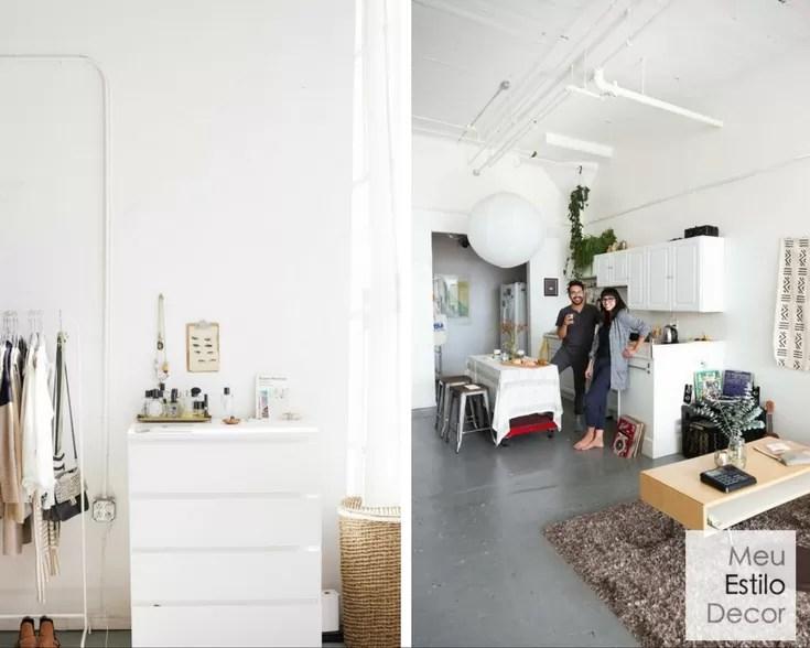 Como decorar um apartamento studio meuestilodecor for Como decorar un apartamento sencillo