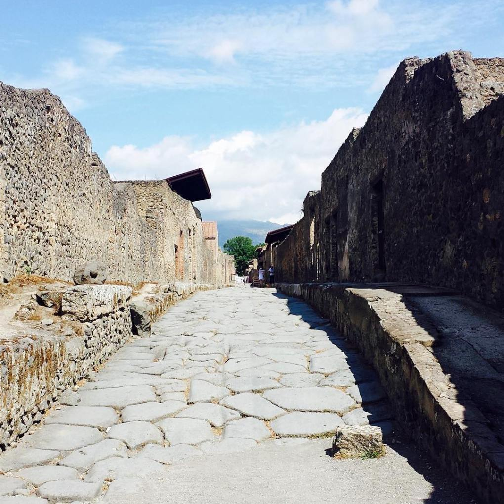 Wandering through the streets of Pompeii Italy Country 819 forhellip