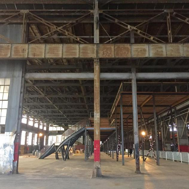 First time golfing in a warehouse onpar withthebest explore sf