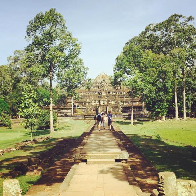 Temple hopping in Cambodia Country 1519 for Heesun