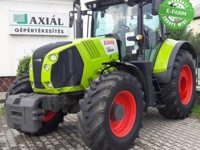 Traktor des Typs CLAAS ARION 650 ekkor: Baja