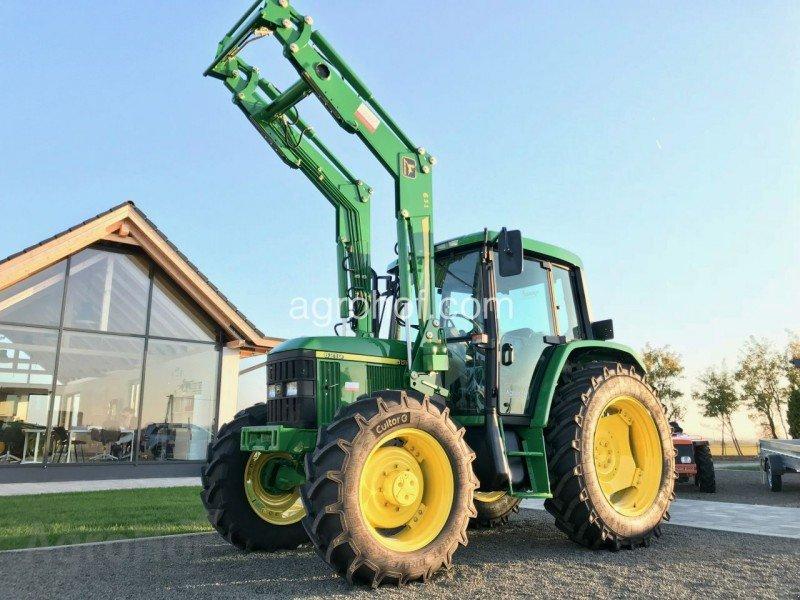 Traktor des Typs John Deere 6210 ekkor: Tiszaug