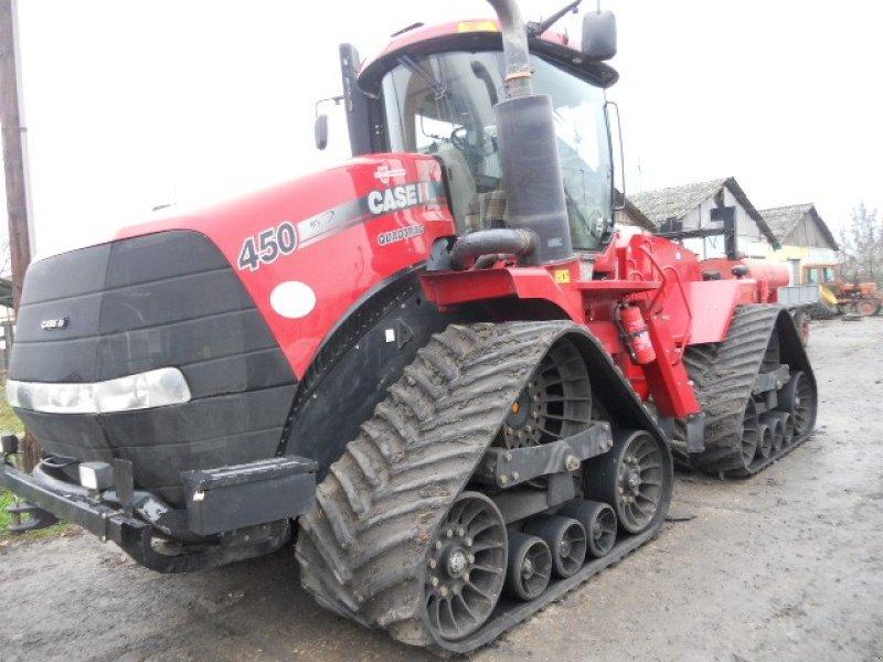 Traktor des Typs Case IH Quadtrac 450 gumihevederes traktor ekkor: Békéscsaba