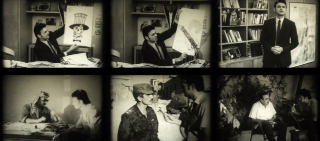 Stills from the film