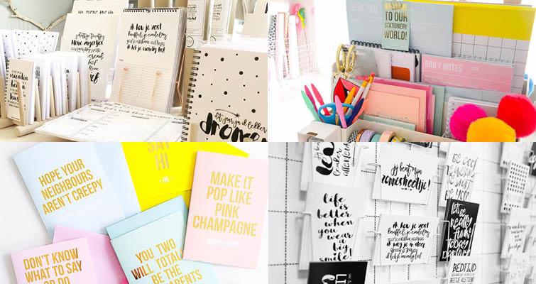 stationery labels - studio stationery / winkeltje van anna