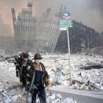 Firefighters at World Trade Center
