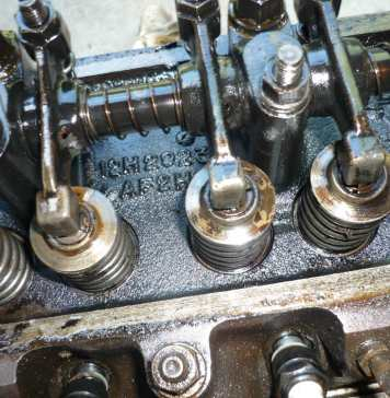 MGB 18V cylinder head