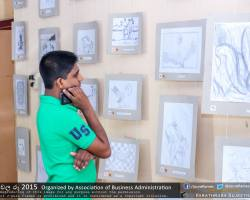 Department of Business Administration chala Ruu 2015 art exhibition (7)