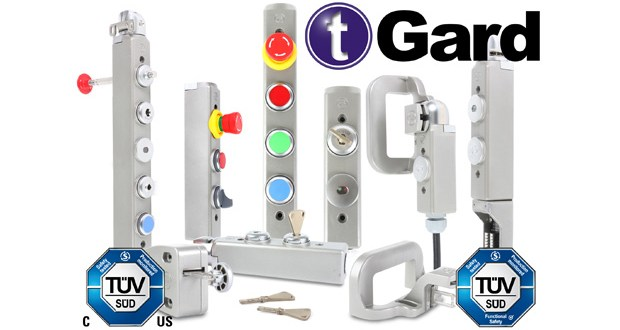 Fortress Interlocks tGard Interlock Switches and Control Devices get TÜV SÜD Certification
