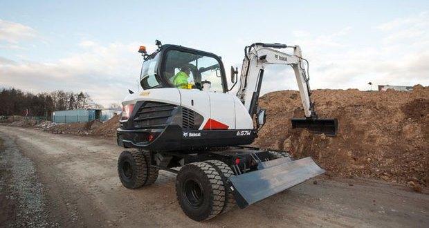 Bobcat launches new E57W stage IIIB Wheeled Excavator