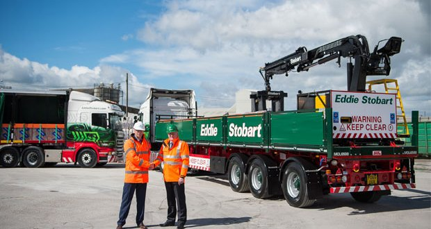 New contract marks Eddie Stobart's largest manufacturing and industrial contract to date