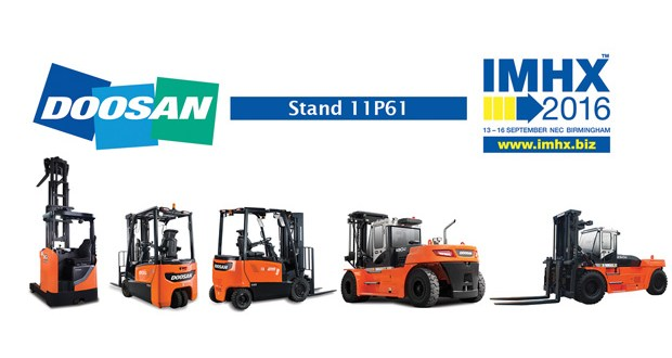 Doosan forklifts IMHX 2016 – Best of both worlds