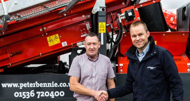Finlay Group seals landmark deal with Peter Bennie