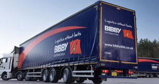 Bibby Distribution CO2 footprint shrinks for third year running