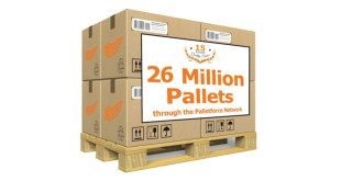 Palletforce reaches 26 million milestone