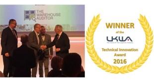The Warehouse Auditor wins at UKWA Awards