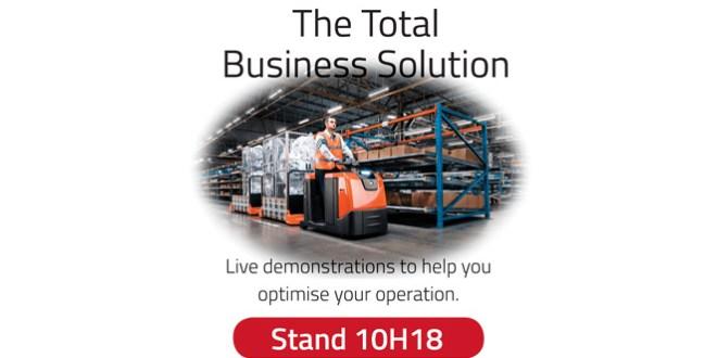 Toyota Material Handling UK live demonstrations at IMHX 2016