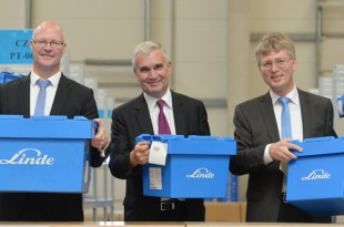 Linde Material Handling opens a new distribution centre in the Czech Republic