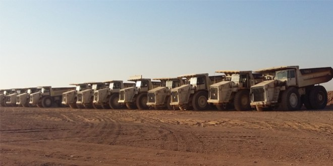 Terex Trucks haul deep in Jordan