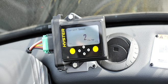 Hyster calls for more forklift monitoring and controlled operator access