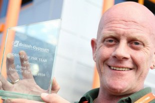 Palletforce member success as Julian crowned Driver of the Year