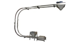 Spiroflow announces hygienic heavy duty chain drag conveyor for the food industry