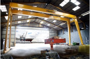 Street Crane delivers Goliath project at Port of Blyth