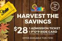 Youth Fair 'Harvest the Savings' deal