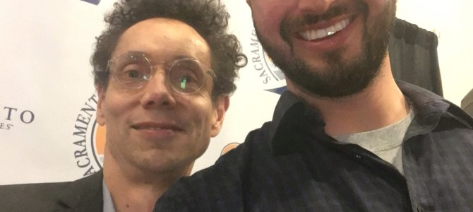 A night with Malcolm Gladwell at Sacramento Speaker Series